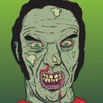 18/12/2013 - Illustrator Zombie Self Portrait