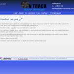 OnTrack Race Rentals Website