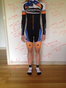 Critique of actual Warragul Cycling Club kit