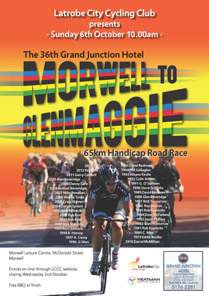 2013 Morwell to Glenmaggie Event Poster