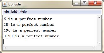 CS106B Asses1 Perfect Number
